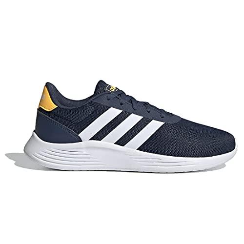 adidas Lite Racer 2.0 K, Zapatillas de Running Unisex Adulto, AZMATR/FTWBLA/Dorsol, 39 1/3 EU