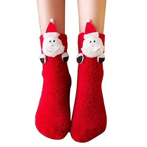Kerstmis Anti-slip Floor Sokken Coral Velvet Autumn huissokken Kerst Winter Home Casual Floor Sokken, type 5, Adult