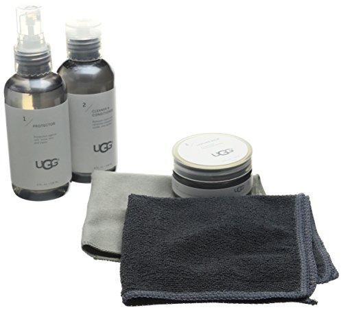 UGG Leather Care, Kit para Cuidado de Zapatos Mujer, Natural, Talla única EU