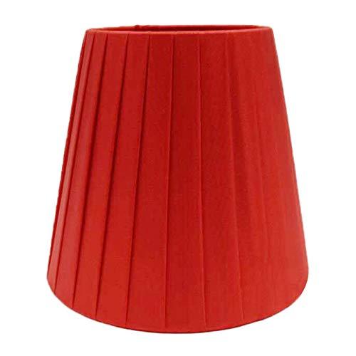 SAC d'épaule Pantalla de Tela Plisada, Color sólido Lámpara de Pared de lámpara de araña de Bricolaje, Pantalla de iluminación de árbol de Roble,A
