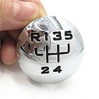 5/6スピードギアシフトノブエンブレムカバーキャップCitroen C3用(A51)C4 Picasso for Peugeot 307 308 B9 Tepeeのための3008 407 5008 807パートナー (Color : 5 Speed)