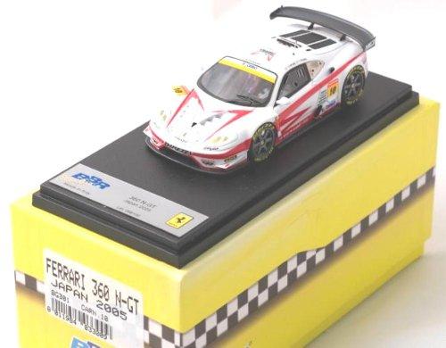 Ferrari BBR 1/43 360 N-GT #10 BG301