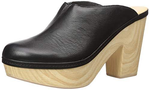 Chinese Laundry Women's Florina Clog, Black Leather, 9 M US