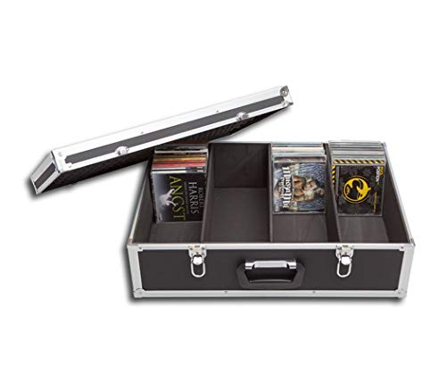 Protected CD Travel / Flight Case for 144 CDs