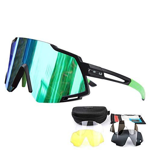 MTB Base Outdoor Sport Fahrrad Sonnenbrille FahrradbrilleBrille-811 5 Linse 6