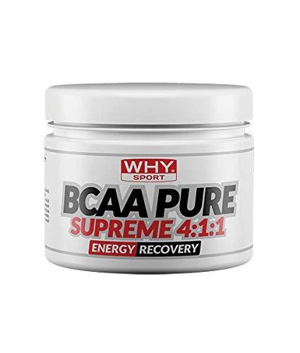 Why Sport BCAA Pure Supreme 4:1:1 200 Grams 40 Porzioni