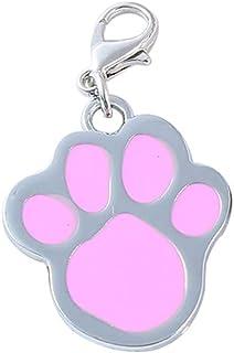 WFZ17 - Colgante para Collar con Colgante de Huellas de Perro, Cachorro, Gato,
