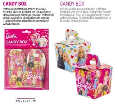 18 CANDY BOX BARBI 18 stuks doos van karton voor bomen