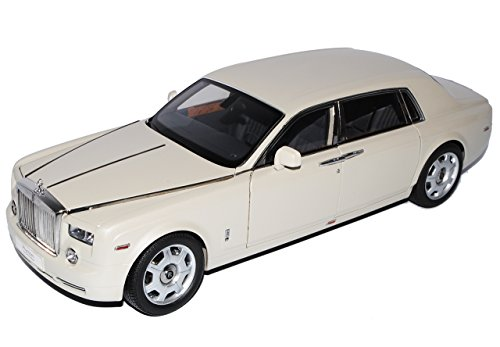 Kyosho Rolls Royce Phantom EWB Carara Weiss 1/18 Modell Auto