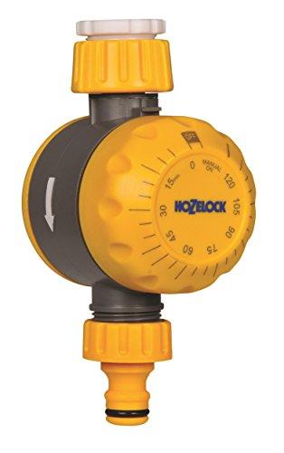 Hozelock Controlador mecánico 2210 0000-Controlador, Amarillo, 0.86x13.17x21.6 cm