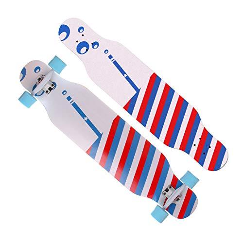 Sale!! 42-Inch Beginners Cruiser Longboard Skateboard Complete Downhill Cruising Dancing Standards S...