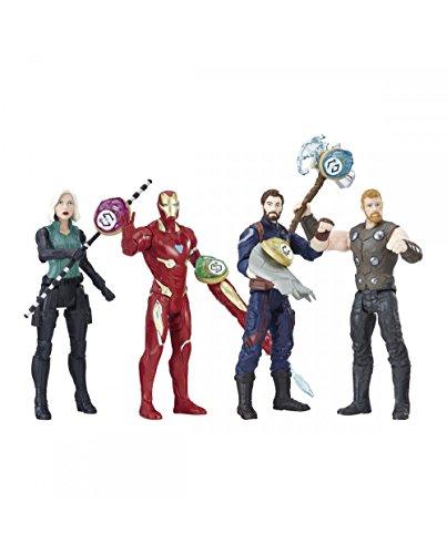 Marvel Avengers E0605EU4 Figura con Gema y Accesorio, modelos surtidos