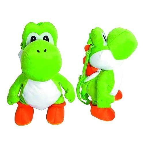 Super Mario Bros. Yoshi Plush Backpack by Global Design Concepts