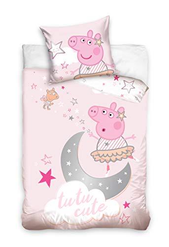 Peppa Pig Ropa de cama para bebé, 100 x 135 cm, PP202007-BABY