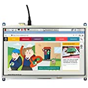 Waveshare Raspberry Pi 10.1inch HDMI LCD 1024×600 high Resolution HDMI Interface Resistive Touch Screen LCD Compatible with All Raspberry Pi 4 3 Model B B+