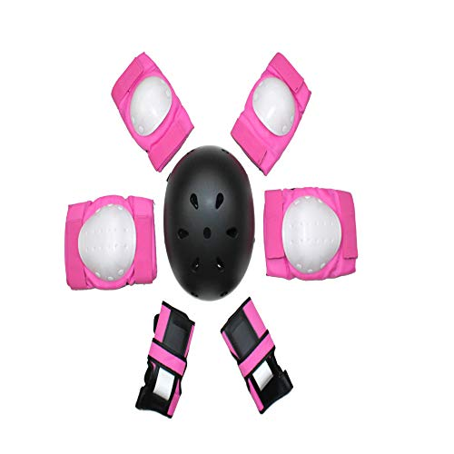 Proteggi Skateboard per Adulti Balance Car Skate Protector Child Roller Skate Helmet Protector Set Set di Protezioni per Bambini M.