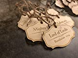 Names of Jesus Christ Christmas Ornament Set 24 Ornaments with Different Names of The Savior