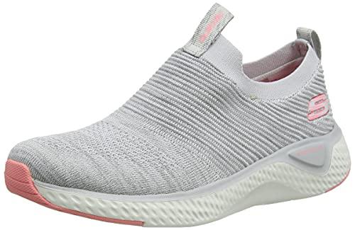 Skechers 13329-GRY, Zapatillas Mujer, Grey, 36 EU