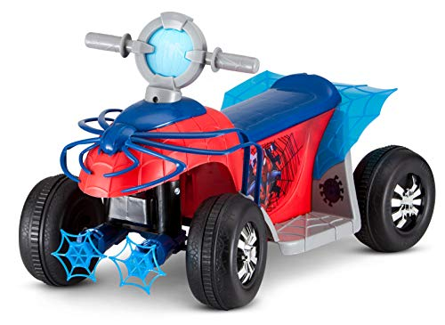 Product Image of the Marvel's Spider-Man Premium Toddler Quad, 6V Ride-On Toy by Kid Trax (KT1283)