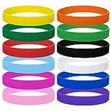 Gogo - Pulseras de Silicona, 120 Pulseras de Goma para niños, proveedores de...