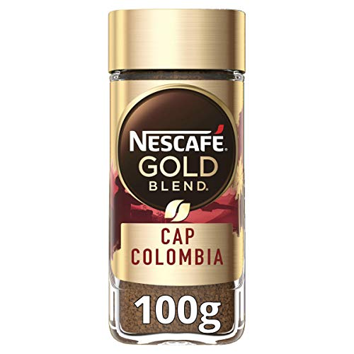 Nescafe GOLD Blend Cap Columbia Instabt Coffee 100g (Pack of 1)