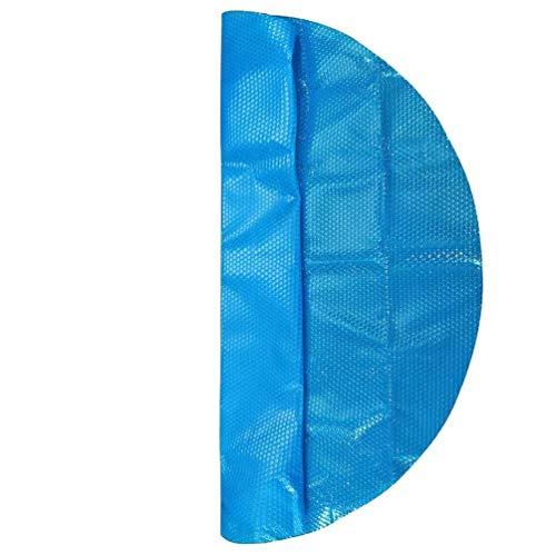 K99 Ronda 12 pies Piscina Cubierta Protectora Solar Protección Piscina Azul Endotérmico...