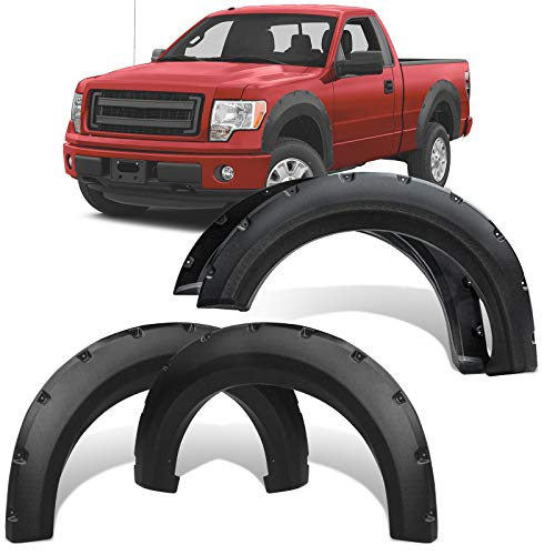 YITAMOTOR Fender Flares Kit Compatible for 2009-2014 Ford F-150 (Not Fit Raptor...
