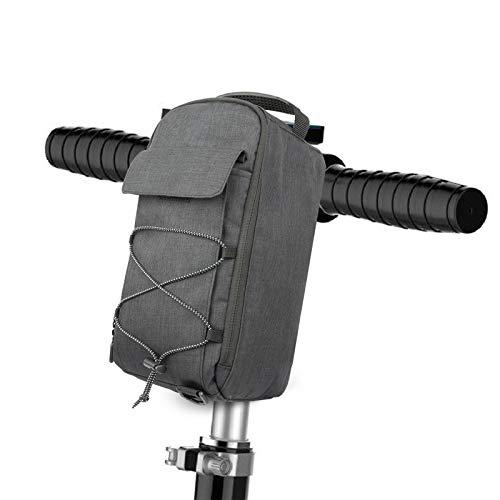 Beemoon Bolsa Almacenamiento Scooter Eléctrico, Bolsa de Manillar para Scooter eléctrico de Gran Capacidad de 5L para M365 / M365 Pro/Segway ES/Bicicleta Plegable