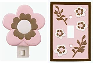 CoCaLo Night Light and Switch Plate Set, Daniella (Discontinued by Manufacturer)