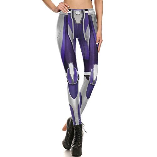 CKUZI 3D-Druck Yoga-HosenMode Fitness Star Wars Roboter Rüstung Comic Cosplay Leggings Frauen Leggins Super Hero Workout Mujer Hosen