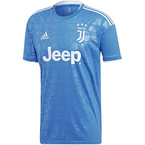 adidas Juve 3 JSY T-Shirt Homme Unity Blue/Aero Blue S18 FR: M (Taille Fabricant: M)