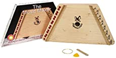 Music Maker - Hand Made Lap Harp - Easy to Play Musical Instrument