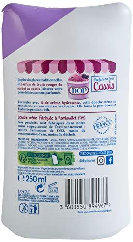 DOP Douche Crème Douceurs Glacées au Parfum du Sorbet Cassis 250 ml