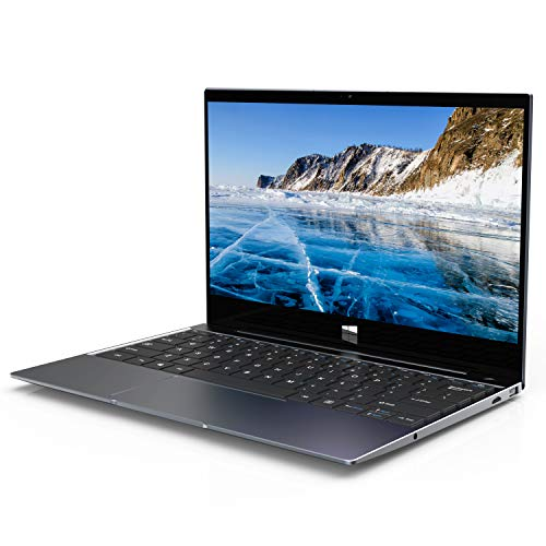 XIDU Tour Pro PC Portable 12,5 Pouces IPS 2K Écran NanoEdge Ordinateur Portable Tactile - Gris Sidéral (Intel Celeron 3867U, 8 Go RAM, 128 Go eMMC, Intel HD Graphics 610, Windows 10, Clavier QWERTY)