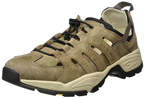 camel active Evolution, Zapatos de Cordones Derby para Hombre, Marrón (Brown/Taupe 14), 40 2/3 EU