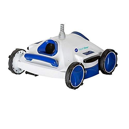 Gre RKC100J Robot limpiafondos kayak clever, Blanco y azul,