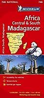 Africa Cental & South, Madagascar - Michelin National Map 746: Map (Michelin National Maps)