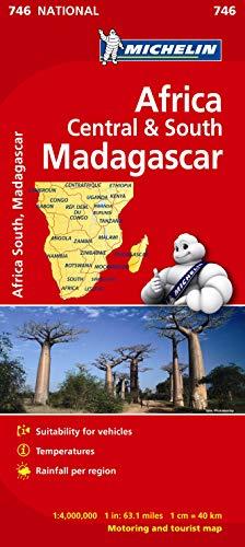 Mapa National África Centro-Sur, Madagascar (Mapas National Michelin)