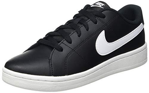 Nike Court Royale 2, Zapatos de Tenis Hombre, Blanco y Negro, 44 EU
