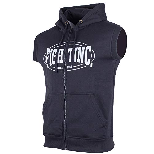 Fightinc. Sleeveless Zip-Hoodie Classic...