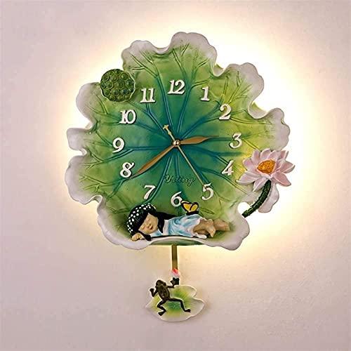 Lámparas De Pared Lámparas Lotus Reloj Lámparas De Pared Y Apliques China Zen Escalera Aisle Iluminación Para Estudio De Sala De Estar