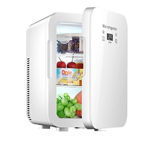 LK-HOME Mini Nevera, Refrigerador Doméstico De A Bordo De Dos Funciones De Calefacción Y Refrigeración, Adecuado para La Oficina En El Hogar Y El Dormitorio del Automóvil