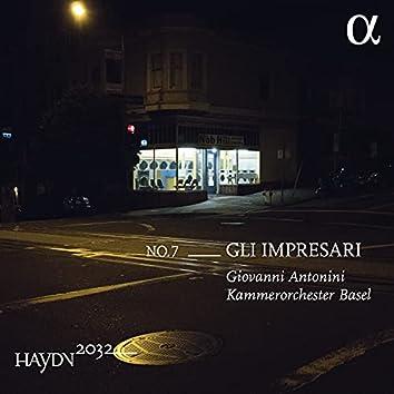 Haydn 2032, Vol. 7: Gli Impresari