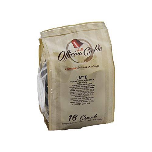 ODC MADE IN ITALY Kit bestehend aus 160 Milchkapseln, die mit NESCAFÉ DOLCE GUSTO Kaffeemaschinen kompatibel sind.