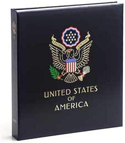 100% garantía genuina de contador DAVO 8431 Luxe Luxe Luxe stamp album USA I 1847-1944  de moda