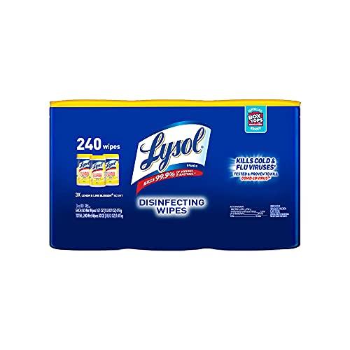 Toallitas Desinfectantes  marca LYSOL