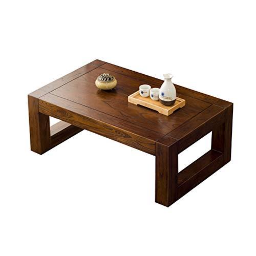 CSQ Solide Bois Petite Table Creative Japonais-Style Table à Thé Baie Fenêtre Table Décoration Table Basse Lit Ordinateur Bureau Enfant Étude Table (Couleur : #2, Taille : 70 * 45 * 30CM)