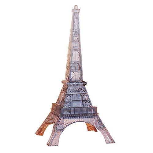 Zumint 3D Puzzle Eiffelturm, 44 Teile 3D Crystal Puzzle Jigsaw Mädchen Puzzles, Elegantes Minimalistisches Design, weniger ist mehr, Das Perfekte Geschenk (I Eiffelturm)
