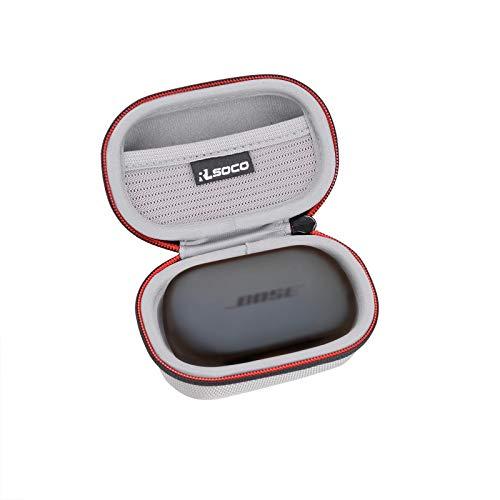 RLSOCO Funda para Bose QuietComfort Noise Cancelling Earbuds/Bose Sport Earbuds-Auriculares Realmente inalámbricos Bluetooth (Plateado)