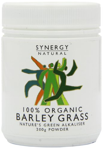 Synergy Natural Organic Barley Grass Powder – 200g